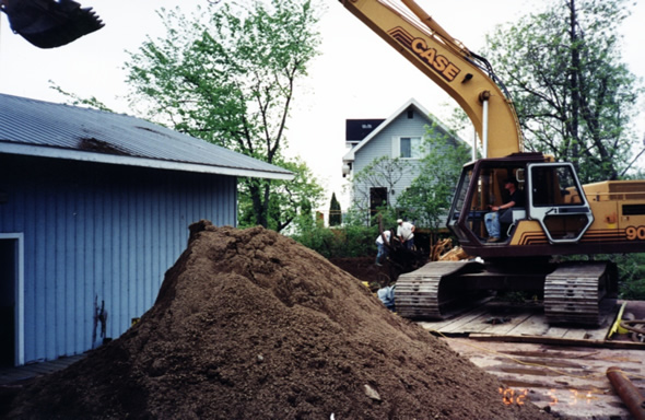 Septic Filter Beds